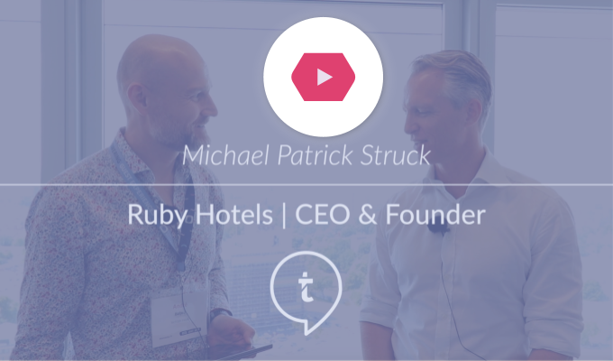 Michael Patrick Struck | Ruby Hotels | HSMA eDay Hamburg 2019
