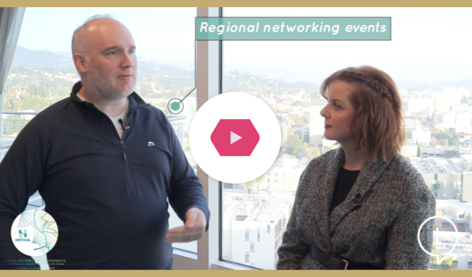 Regional Networking Events | New HEDNA President