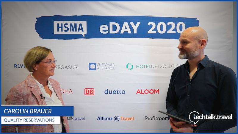 Carolin Brauer l Quality Reservations l HSMA eDay 2020