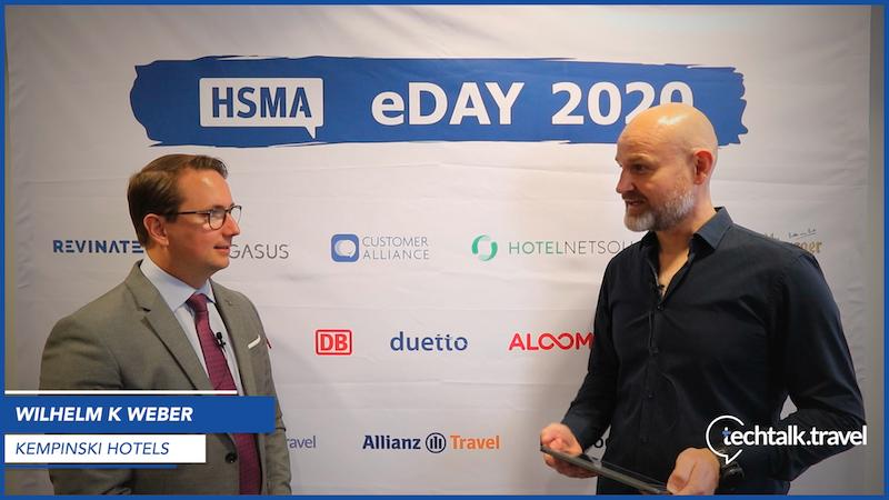 Wilhelm K. Weber l Kempinski Hotels l HSMA eDay 2020