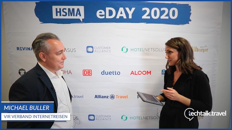 Michael Buller l Verband Internet Reisevertrieb (VIR) e.V. l HSMA eDay 2020