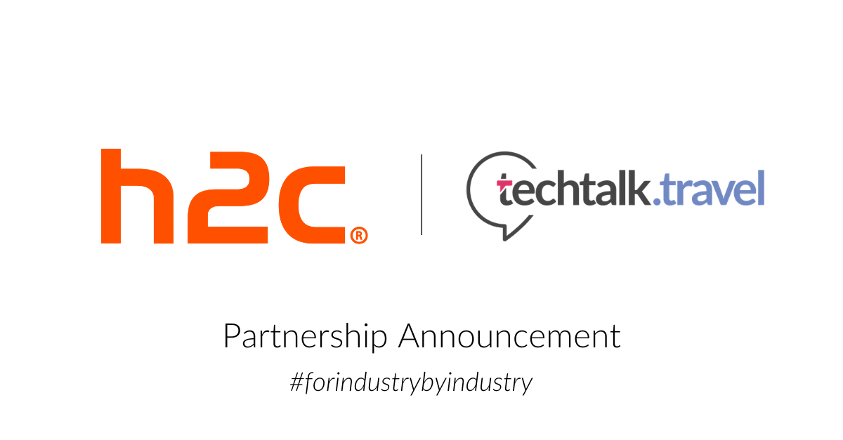 Partnership Announcement l h2c and techtalk.travel