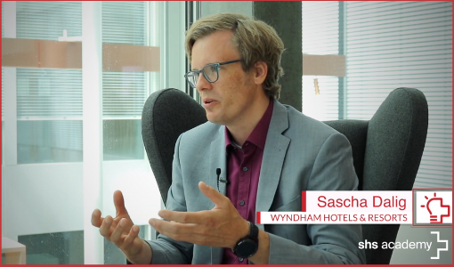 Labour shortage in hospitality, technology & the importance of values l Sascha Dalig, Wyndham Hotels & Resorts
